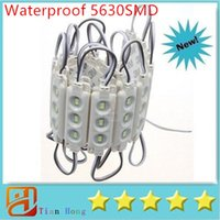 Wholesale high led module string resale online - New Arrival Injection ABS Plastic SMD Led Modules Leds W High Lumen Led Backlights String White Warm White Red Blue Waterproof
