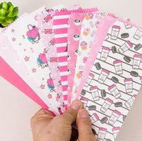 Wholesale Letter Stationary - Wholesale-5 pcs pack Pinky Kingdome Envelope Message Card Letter Stationary Storage Paper Gift