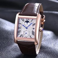 Wholesale Square Design Branded Watches - luxury brand man watches tank men watches C brand latest design tank MC watches