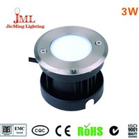Wholesale 3W LED COB underground light IP68 W COB Diameter mm VAC outdoor lighting aluminum material underground lamp