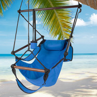 Wholesale Deluxe Swing - Hammock Hanging Chair Air Deluxe Sky Swing Outdoor Chair Solid Wood 250lb