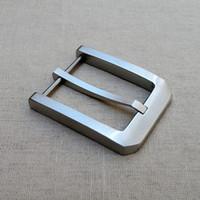 fivela de aço inoxidável artesanal venda por atacado-Frete grátis fivela de metal cabeça de cinto de fivela de cinto de aço inoxidável criativo DIY cabeça de hardware artesanal saco de artesanato de couro