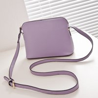 Wholesale circle shell - Brand Designer Women Shoulder Bag Purses Crossbody Shell Bags Fashion Small Messenger Bag Handbags PU Circle