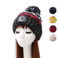 Wholesale cap headphones - Headphone Sign Hat Creative Design Beanie Keep Warm Windproof Knit Cap Comfortable For Women Multi Color 9 3dh C
