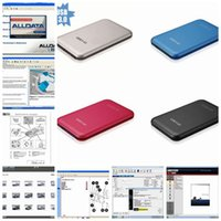 Wholesale Mazda Repair Parts - HOT!!! 2016 new arrive Auto Repair Software Alldata 10.53+Mitchell 2015 + auto parts catalogueetc 49 in1 with 1TB New Hard Disk