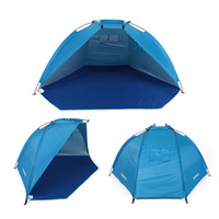 Outdoor Beach Tents Protable Camping Tent Uv Proteção Family Shelters Shade Ultralight Tent For Fishing Picnic Park
