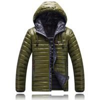 Wholesale Waterproof Jacket 5xl - Men's Down & Parkas NEW men DOWN winter down jacket Polartec Jacket Male Sports Windproof Waterproof Breathable Face Outdoor long Coat 1501