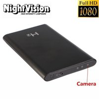 Wholesale Mobile Vision Camera - H2 HD 1080P Spy Hidden Camera 4000mA Mobile Power Bank Motion Detection Video Recorder DVR Mini Hidden Cam DV IR Night Vision