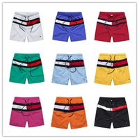 Wholesale Embroidery Trousers - New Board Shorts Mens Summer Beach Shorts Pants High-quality Swimwear Bermuda Male Letter Surf Life Men Swim Men Shorts trousers
