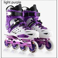patines de moda al por mayor-Moda profesional para adultos Patines en línea Patinaje sobre ruedas Zapatos Unisex Duradero Slalom / Frenado / FSK Hockey Patines Patinaje