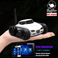 Gros-New Happy Cow 777-270 WiFi i-spy Mini Tank Car FPV 0.3MP Caméra Deformable Caméra Soutien IOS ou Android Phone