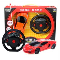 randomly original steel wheels - High qultity rc car toys for children types gravity sensor remote control racing car model with mini steeling wheel channels