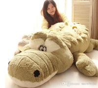 Wholesale Lovers Sleep - Lovers Sleeping Pillow, Large Crocodile Doll Lies Prone, Children Plush Toys For a Birthday Present