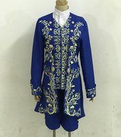 Wholesale Beast Man Costume - 2017 up to date the film Live version Beauty and the beast cosplay costume male Beast prince cos Full set of clothes adult clothing