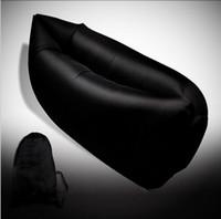 Wholesale Air Dream - Inflatable Lounger air Sleeping Bag outdoor Beach Lounger Portable Dream Chair Air Sleep Sofa Lounge raft