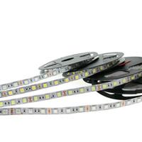 éclairage étanche à la corde 12v achat en gros de-5050 bandes lumineuses menées de bande de RVB 12V bandes lumineuses menées imperméables de corde 5M 300LEDs pour l'éclairage de barre de KTV de Noël
