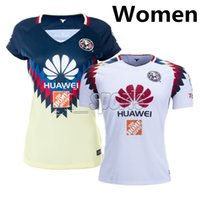 Wholesale Short Black Woman Club - 2017-18 Club America Women Futbol Camisa O.Peralta S.Romero Soccer Jersey Football Camisetas Shirt Kit Maillot Liga MX