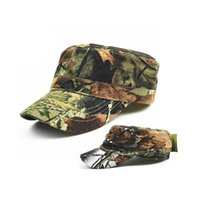 Wholesale Red Military Peaked Cap - army Tactical Cap Bionic Camouflage Sun Hat Men Women Baseball Cap Outdoor Hunting Camping Hiking Cycling Peaked Cap