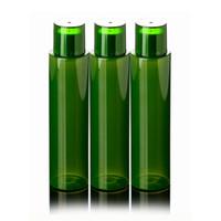 Wholesale Empty Plastic Water Bottles - 120ml Refillable PET Latex Essence Bottle Eco Friendly Green Empty Cosmetic Water Bottle Makeup Vials 20pcs lot FZ002