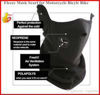Wholesale Black Scarf Hood - Face Mask for Sports Motorcycle Bicyle Bike Winter Warm Hats Cap Ski Snowboard Wind Hood Thermal Balaclavas Scarf OUT001