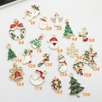 Wholesale Wholesale Snowflake Charms Free Shipping - Free shipping Christmas Charm Antique Gold Plated Snowflake Charms Pendants fit Bracelet Necklace Jewelry Making Gifts
