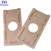 Wholesale aluminium metal frame resale online - Aluminium Metal Mould For iPhone plus s plus plus s s c Positioning mould for front glass with frame Location