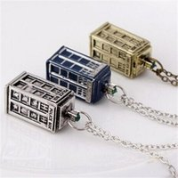 Wholesale Dr House - Dr. Mysterious House Necklace Doctor Who Pendant Necklace XL-1996