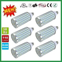 Wholesale NEW aluminum alloy heat dissipation luster E27 SMD5730LED corn lamp W W W W W W W W AC85 v