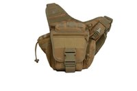 Wholesale Tactical Saddle Bags - Tactical saddle pack all kinds of small objects can be placed on a mobile phone2016Messenger camera bag men women outdoor cycling casual sad