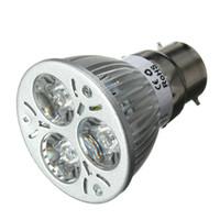 invernadero uv al por mayor-3W LED crece la luz E27 B22 GU10 UV ultravioleta púrpura LED lámpara de la planta del bulbo del proyector para el sistema de hidroponía de invernadero AC85-265V