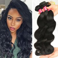 Wholesale Brazilian Virgin Hair Wholesale Prices - Brazilian Body Wave 3 or 4 Bundles Factory Price Human Hair Extensions 8A Brazilian Virgin Hair Body Wave Brizilian Body Wavy Hair Weft