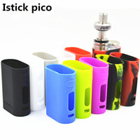 Istick Pico Silicone Case Silicon Cases Colorful Skin Rubber Sleeve Housse de protection pour išmoka Eleaf Istick Pico 75w DHL FJ694 gratuit