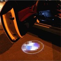 caixinha de lâmpada venda por atacado-Caso para jeep case para chery logotipo do carro levou luzes interiores welcome door sombra sombra lâmpadas 12 v