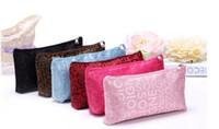 çantaları yıka toptan satış-Kadın moda kozmetik çantası tasarımcısı mektup saklama çantası seyahat su geçirmez yıkama çantası