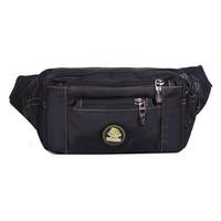 Wholesale Men Shoulder Bag Fanny Pack - Men's Multi-Purpose Fanny Pack Waist Pack Single Shoulder Hip Belt Bag Hiking Camping Riding Travel Sports Bag