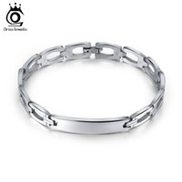 Wholesale High Polished Silver Link Bracelet - Top Quality Stainless Steel Charm Bracelet Jewelry For Man 9mm Width High Polished Silver Color Men Bracelets GTB39