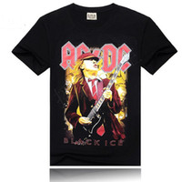 Wholesale Cheap Punk Shirts - 2016 Fashion design t shirts punk rock t shirts printed t shirts cheap for manrock men t-shirt free shipping