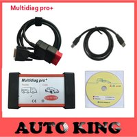 Wholesale Cdp 3in1 - Wholesale- 2017 Multidiag Pro+ for Cars and Trucks vd tcs cdp pro 3in1 obd2 diagnostic scan tool in stock+long warranty Fast shipping