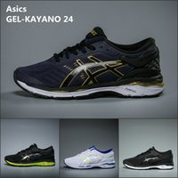 Wholesale Best For Winter - 2018 Wholesale Asics GEL-KAYANO 24 For Men Running Shoes Best Quality New Hot Athletics Discount Sneakers Sports Shoes Boots