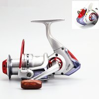Wholesale Red Bait Fish - 2016 New Alarm Fishing Reels Smart Automatic Electric Spinning Reel 8+1BB Fish Alertor Metal Wire Cup Spool