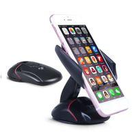 gps plegable al por mayor-Universal Modelo de Ratón Plegable Ajustable Soporte para Teléfono Móvil del Coche Tablero de Control Soporte Móvil para Coche Soporte para Teléfono Móvil GPS Soporte para Coche