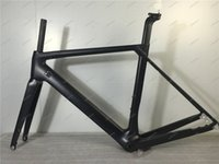 Wholesale Road Frame Carbon Disc Brake - 2017 Newest HQR27 T800 Disc Brake Bike Frame Bicycle Frame+Fork+Seat Post+Clamp+Headset+BB Adapter Size XS S M L XL Available