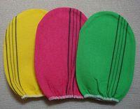 Wholesale Korea Glove Wholesale - Wholesale-Free shipping italy towel korea glove viscose scrub mitt body scrub glove kessa mitt exfoliating tan glove