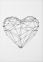 Toptan Satın Alış 2018 Kalp Duvar Sanatı Boyama çinden On Line Kalp