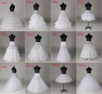 Wholesale Hoop Slip Bone - In Stock Hoops Ball Gown Bridal Petticoat Bone Full Crinoline Petticoat 2016 Wedding Skirt Slip New Free Shipping