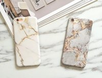Wholesale luxury chrome case - Marble Chrome Case for iPhone 7 Case Silicone Luxury Marble Cover for iPhone X 7Plus 6s 6 Plus 8 TPU Phone Bag for samsung s8 s8 plus