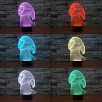 No spirit candles - 2016 Ghost spirit New D Night Lamp Optical Night Light LEDs Night Light DC V Factory WholesaleEiffel Towe