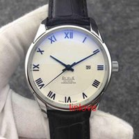 Wholesale Mens Dress Watches Leather Strap - Rome Number Luxury Brand Automatic Watch Steel Mens Leather Strap Glass Back Business Men's Wristwatch Dress Casual women's fashion Watches