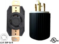 Wholesale Generator RV Locking L14 Plug and Receptacle Socket P W A V