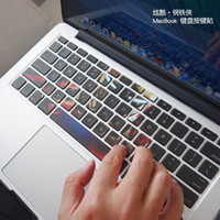 Wholesale Macbook Air Stickers - Iron Man macbook sticker macbook decal keyboard Decal Skin Air Pro retina 11 13 15